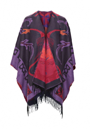 Jimmy Hourihan Multi Color Irish Shawl