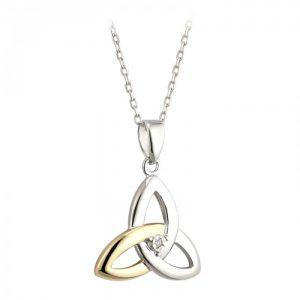 Diamond Trinity Knot