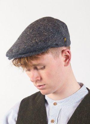 Denim Irish Flat Cap