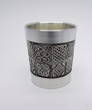 Mullingar Pewter Celtic Design Shot Measure