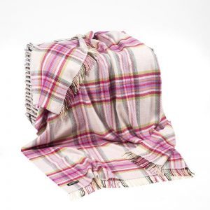 Cashmere Irish Wool Blanket 1424 - John Hanly & Co