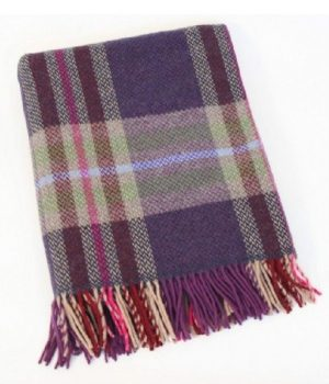 Cashmere Irish Wool Blanket Throw