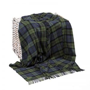 Lambswool Irish Blanket John Hanly 625
