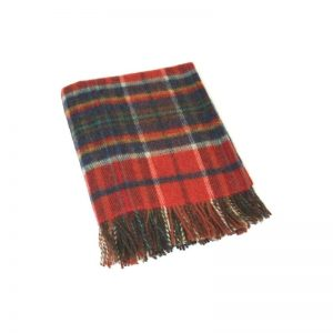 Wool Irish Blanket John Hanly 180
