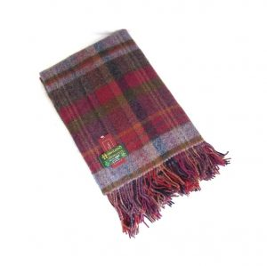 John Hanly Irish Wool Blanket 134