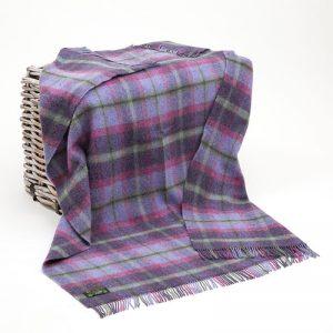 Large Wool Irish Blanket John Hanly 188