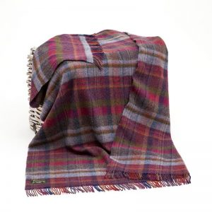 Large Wool Irish Blanket John Hanly 134