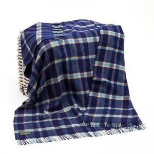 Large Wool Irish Blanket John Hanly 105