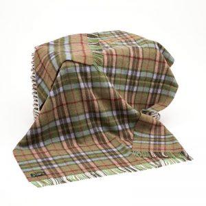 Large Wool Irish Blanket John Hanly 186
