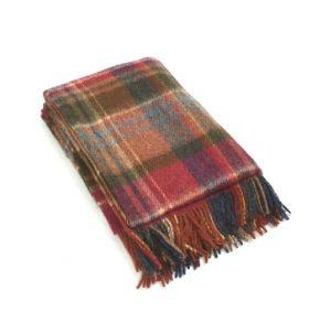 Large Wool Irish Blanket John Hanly 152