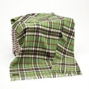 Large Wool Irish Blanket John Hanly 184
