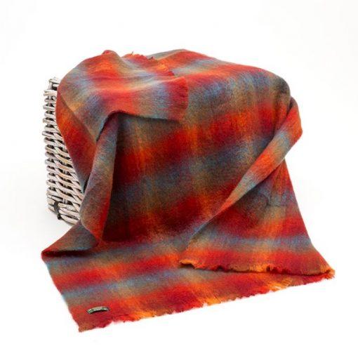 Large Irish Mohair Blanket John Hanly 556