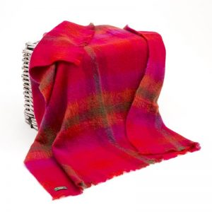 Large Irish Mohair Blanket John Hanly lm552