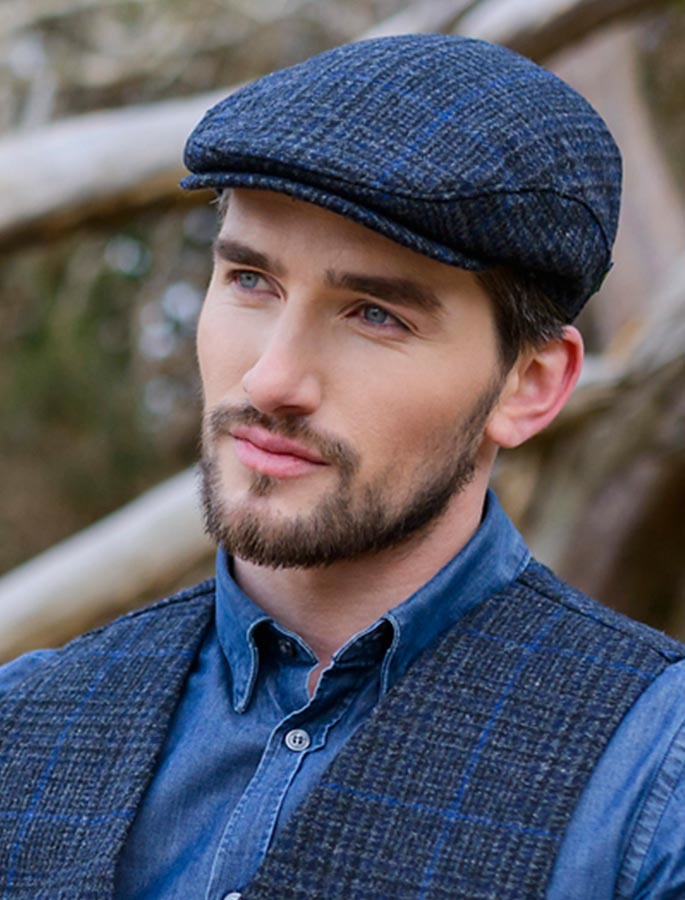 c724ab1f26e Trinity Flat Cap Mucros Weavers 434-1.Skellig Gift Store Waterville.