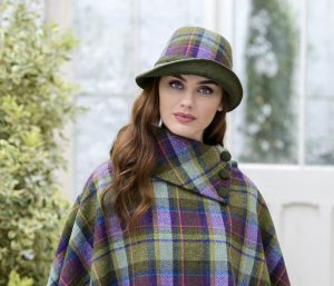 Womens Tweed Hat -Clodagh Mucros
