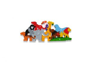Number Irish Zoo Jigsaw Puzzle