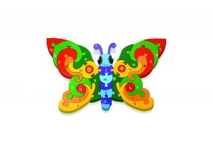 Butterfly Irish Jigsaw Puzzle