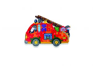 Fire Engine Irish Jigsaw Puzzle