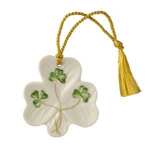 Belleek Shamrock Ornament 1810
