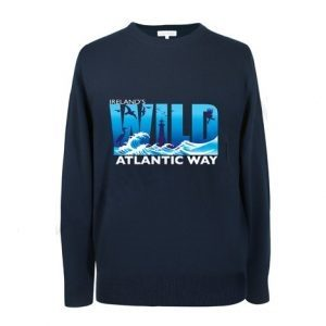 Navy Wild Atlantic Way Irish Sweatshirt