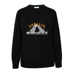 Black War on the Rock Skellig Sweatshirt