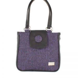 Mucros Ciara Bag Purple Irish Tweed Col 213