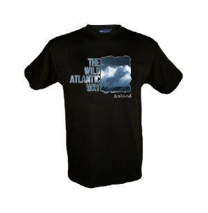 Wild Atlantic Way Ireland Premium Black T-Shirt