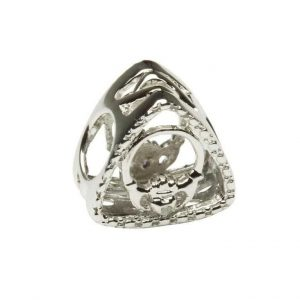 Tara's Diary Diamond Claddagh Charm Bead