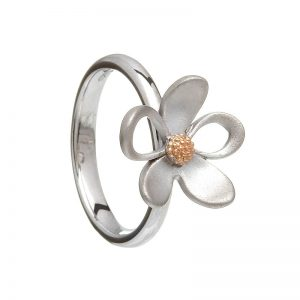 House of Lor Sterling Silver petal Ring