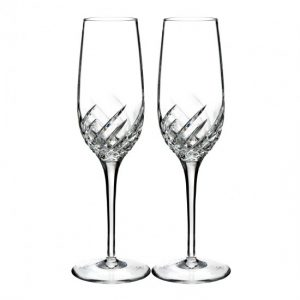 Waterford Crystal Essentially Wave Flute (Set of 2)