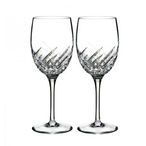 Waterford Crystal Essentially Wave Wine Glasses (Set of 2)