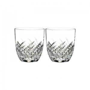 Waterford Crystal Essentially Wave Double Old Fashioned (Set of 2)