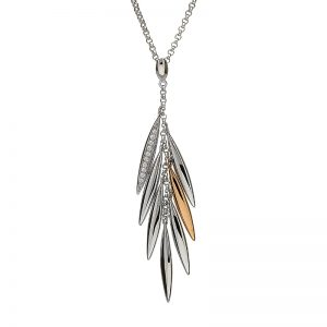 House of Lor Irish Feather Drop Necklace