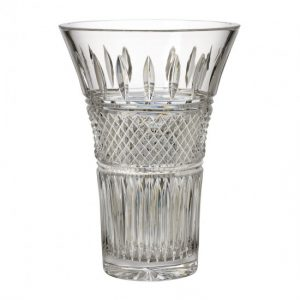 "Waterford Crystal Irish Lace 10"" Vase"