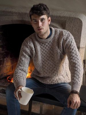 Oatmeal Irish Wool Sweater