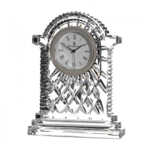 Waterford Crystal Carriage Cottage Clock