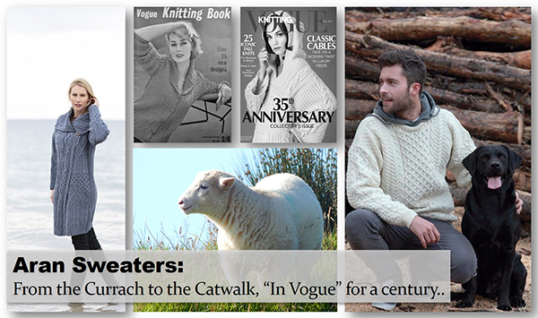 52364f0123aa Aran Sweaters  From the Currach to the Catwalk - Skellig Gift Store
