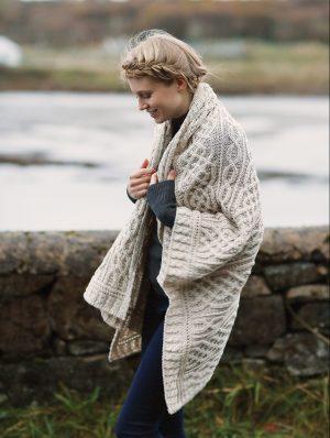 Merino Wool Irish Blanket