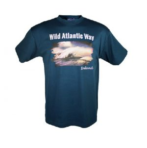 Wild Atlantic Way Ireland Premium Navy T-Shirt