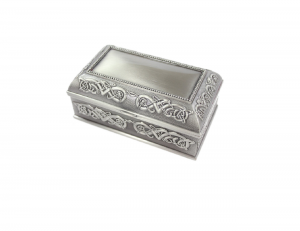 Mullingar Pewter plain Large Jewellery Box