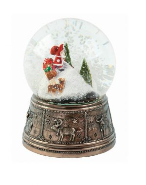 Genesis Igloo Snow Globe