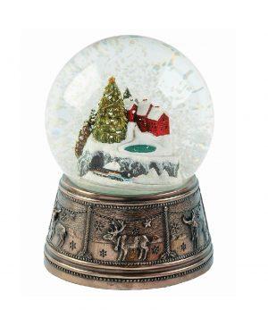 Genesis Christmas Town Snow Globe