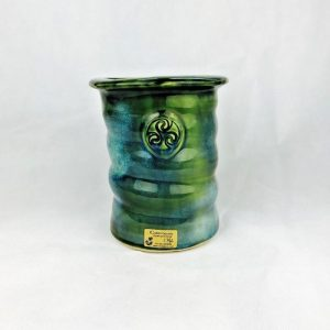Colm De Ris Green Utensil Holder