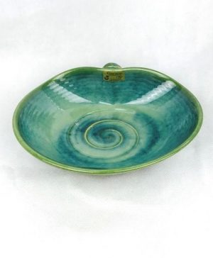 Colm De Ris Green Serving Dish