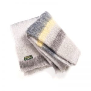 Irish Mohair Blanket John Hanly sm513