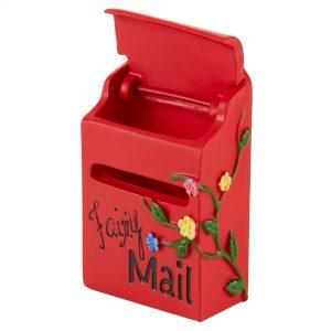 Irish Fairy Doors Red Mail Box