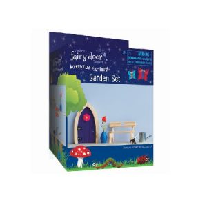 Irish Fairy Doors 4 Piece Garden Set