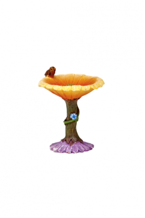 Irish Fairy Doors bird bath,