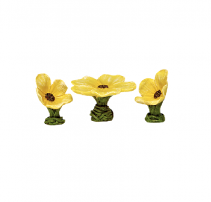 Irish Fairy Doors Flower Table Set