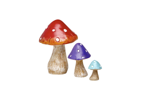 Irish Fairy Doors Toadstool Set